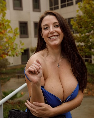 All natural australian beauty angela white has massive