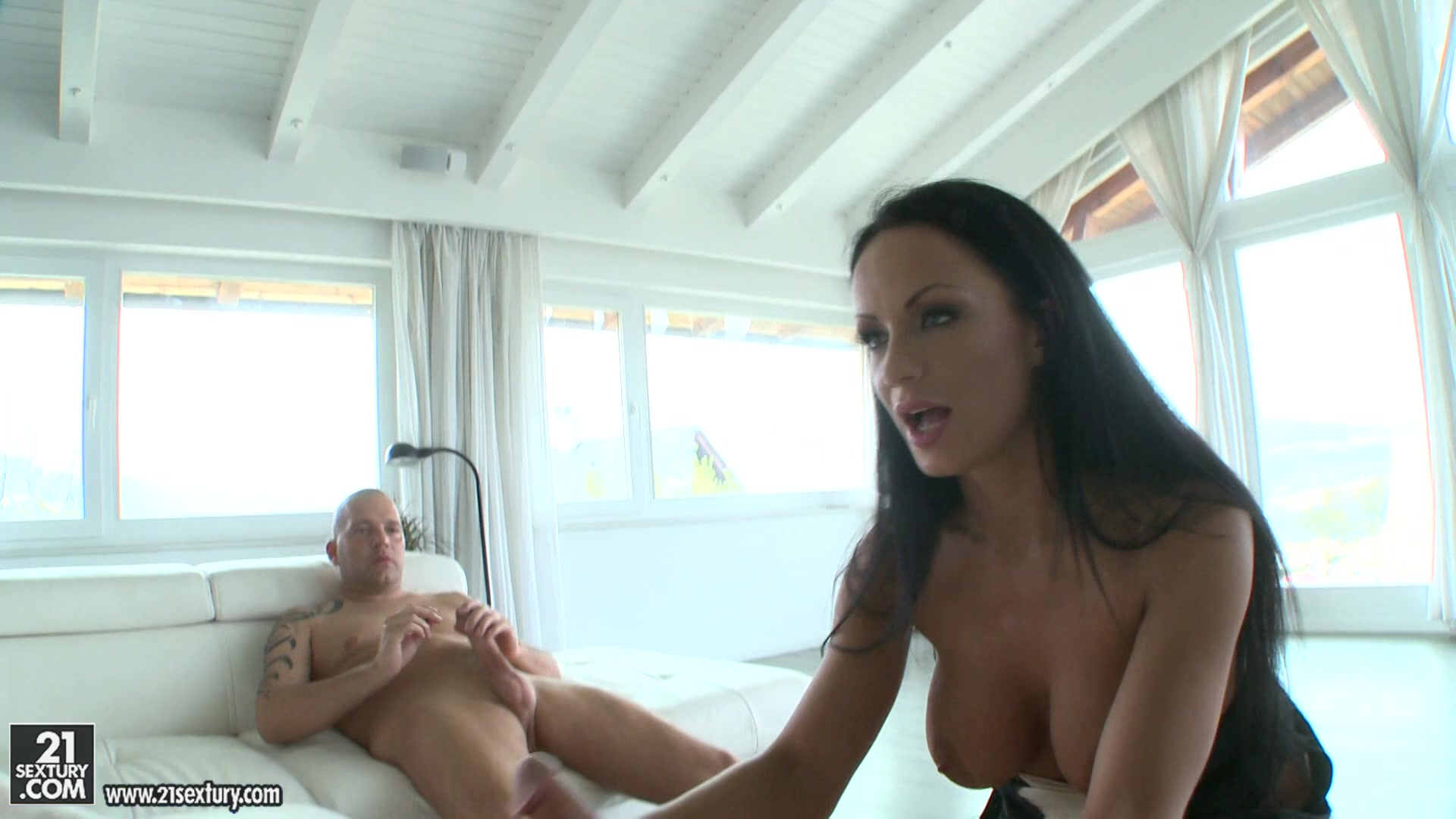 She begs him to fuck her
