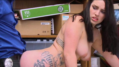 Police station blowjob porn