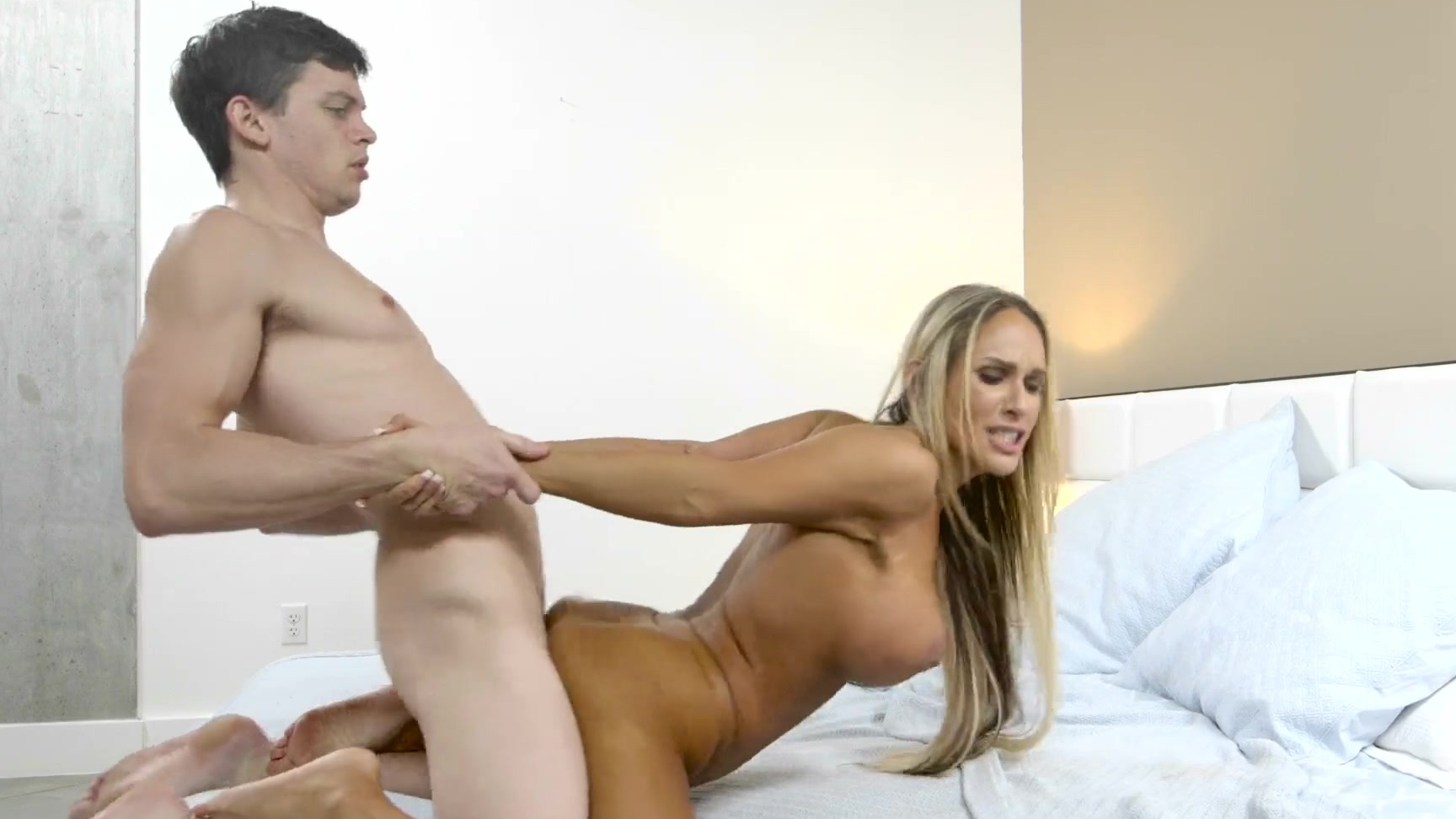Milf blowjob and butt plug hard fuck alena lamlam 8
