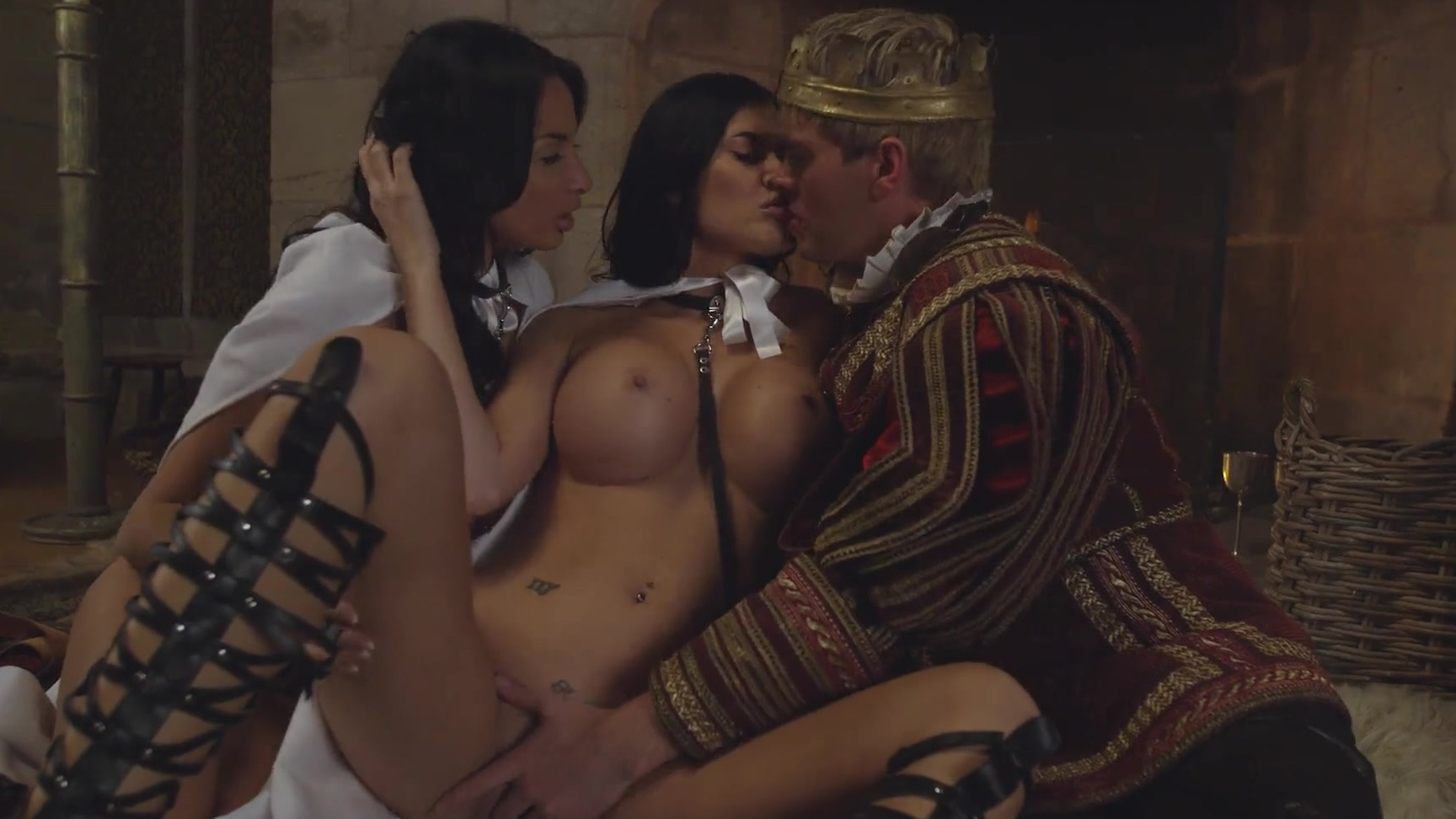 Anissa Kate  Jasmine Jae Are Dominated With Kings Iron -1704