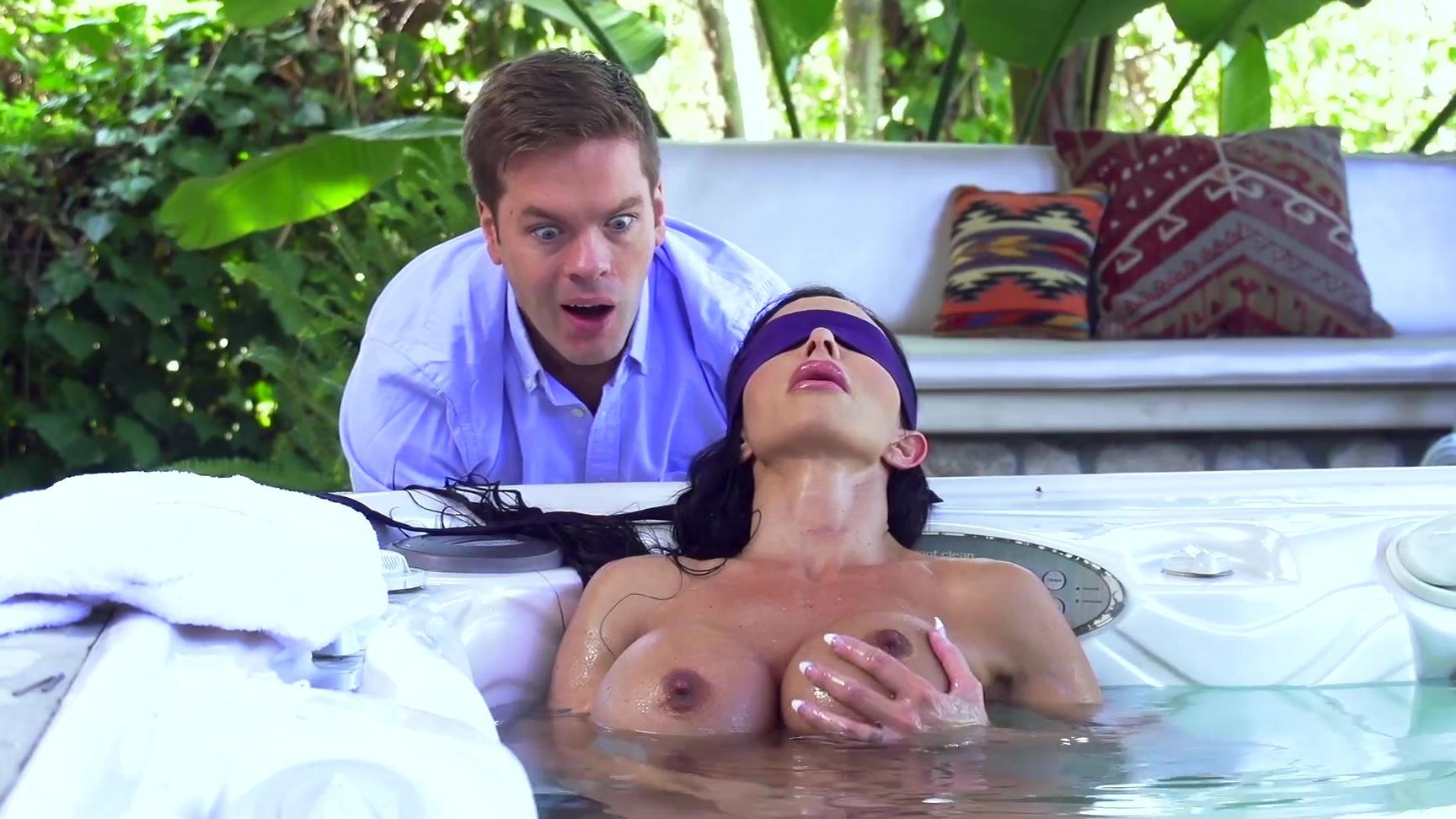 Can recommend brazzers jewels jade my friends mom blindfolded what