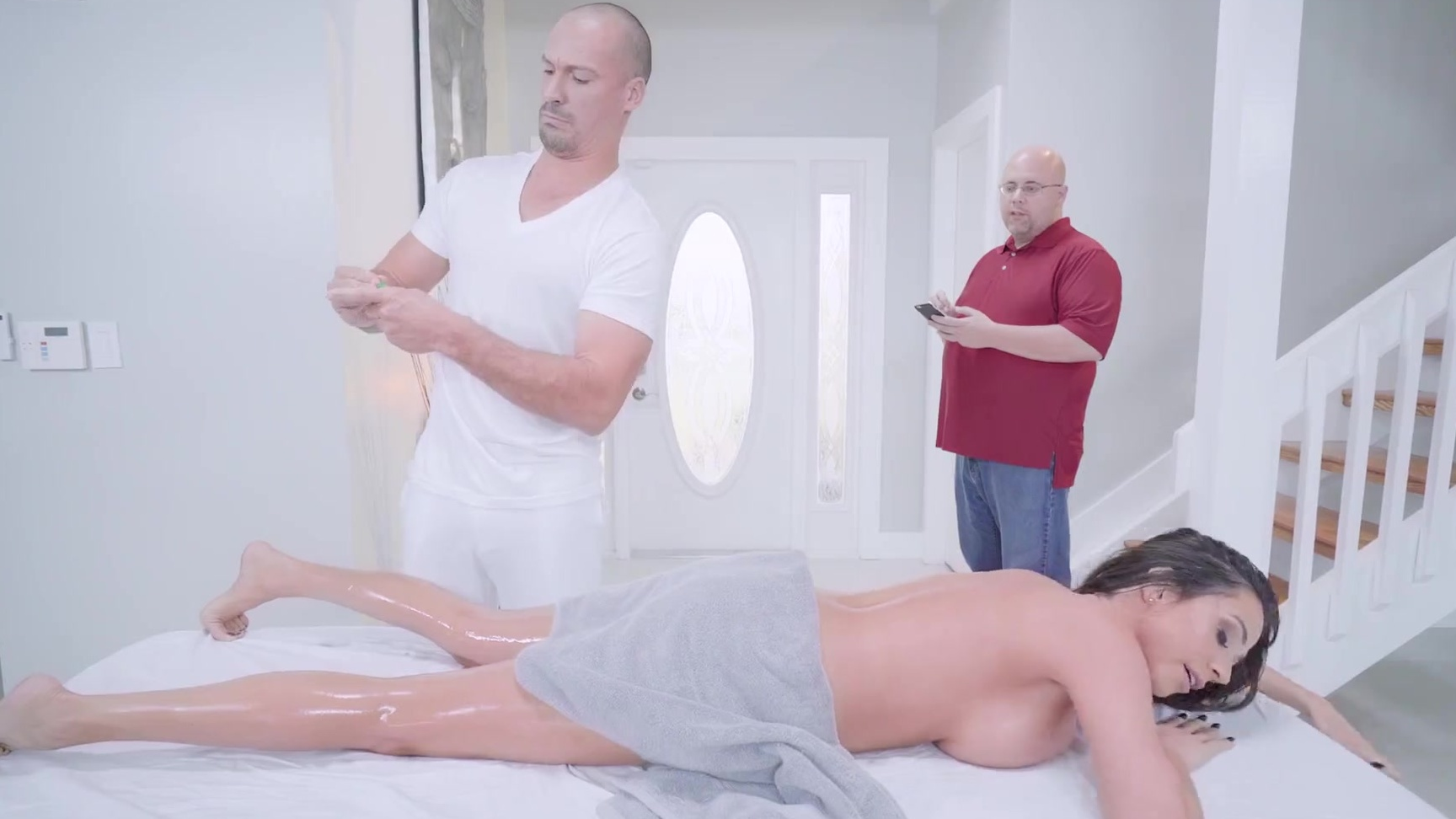 Brazzers Oiled Up Massage