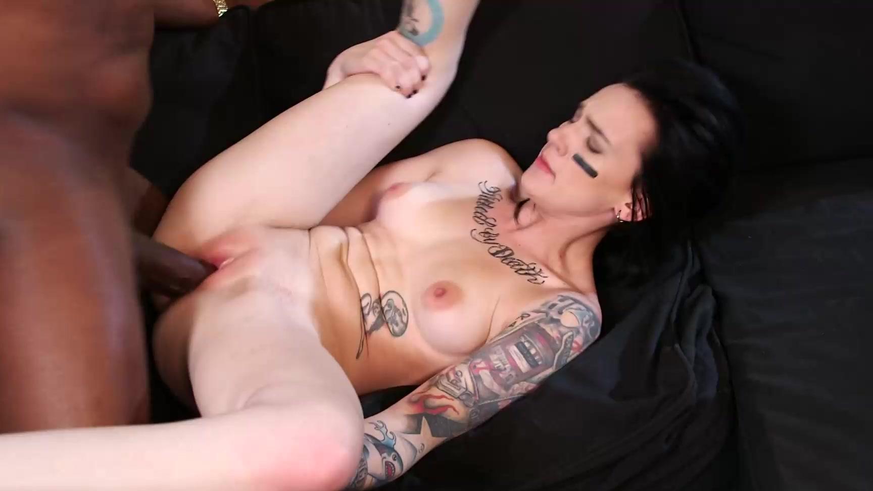 Lady gaping anus