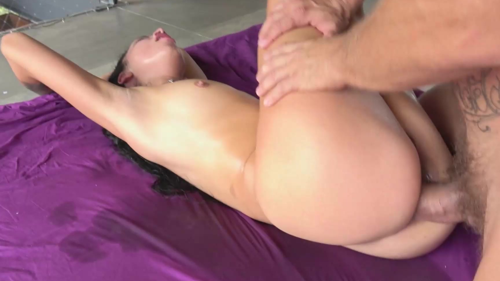 Fucked Her While Her Man Work