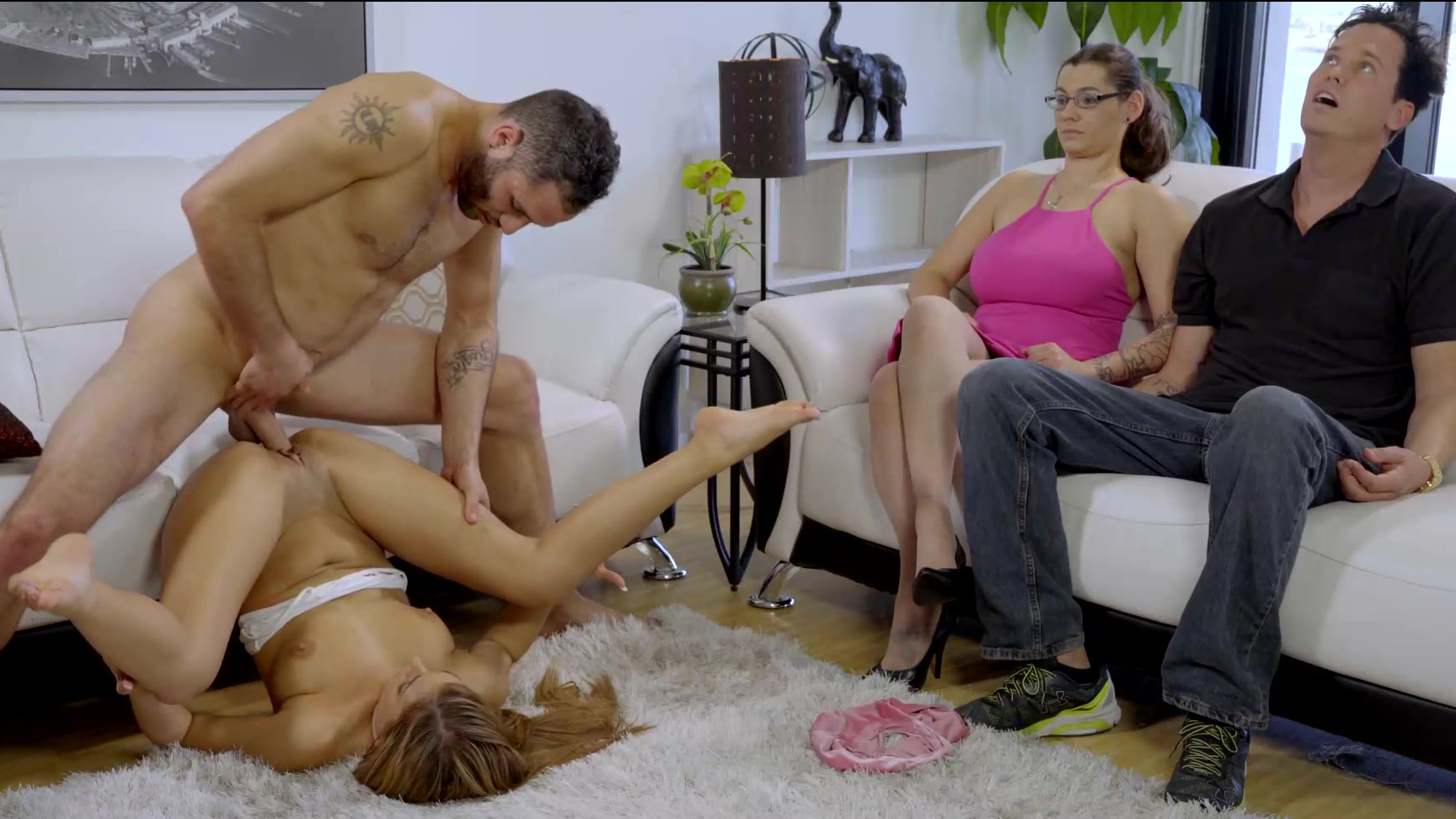 Latina Fucks Parents Home