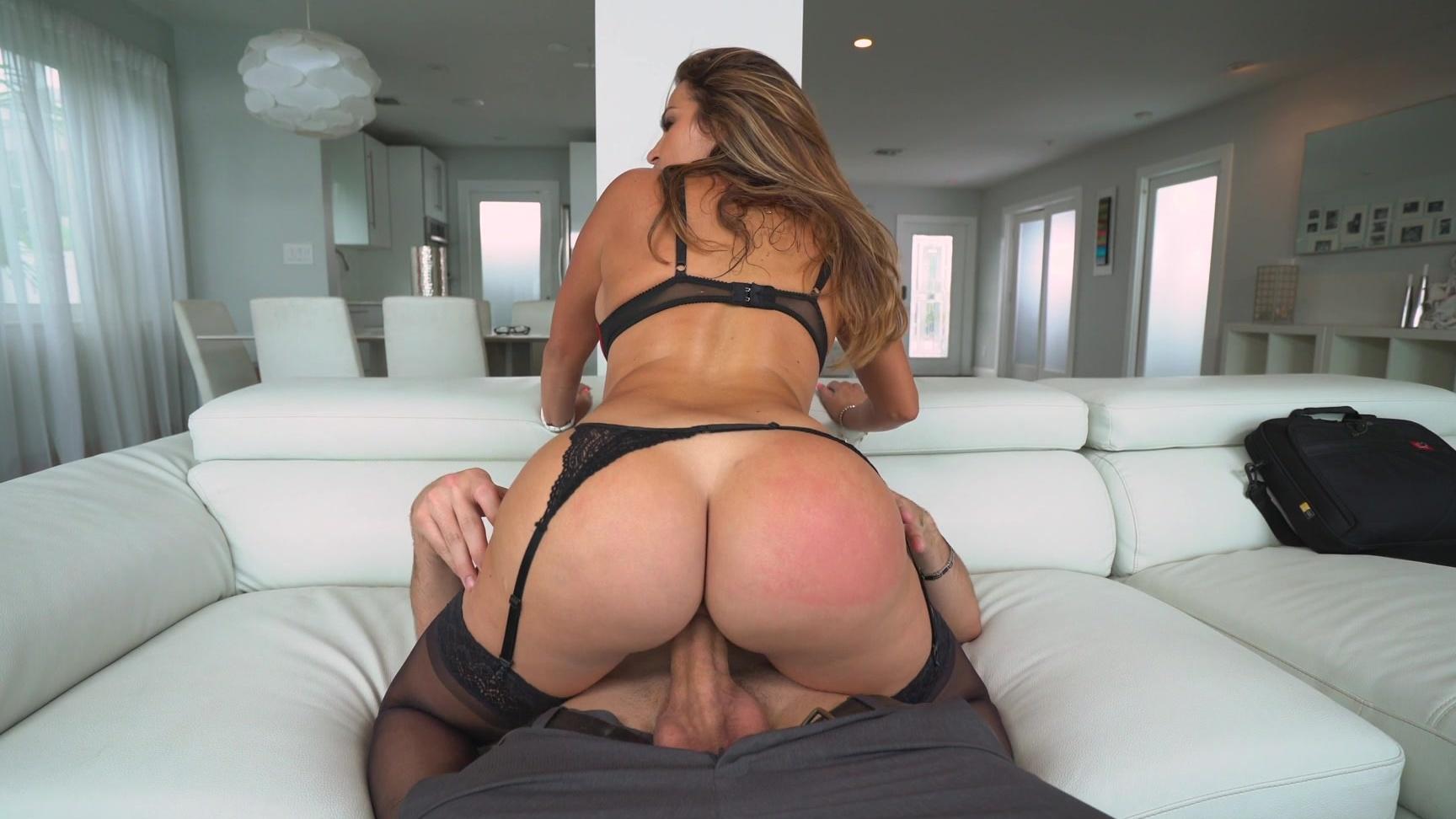 Cumming on bf ass