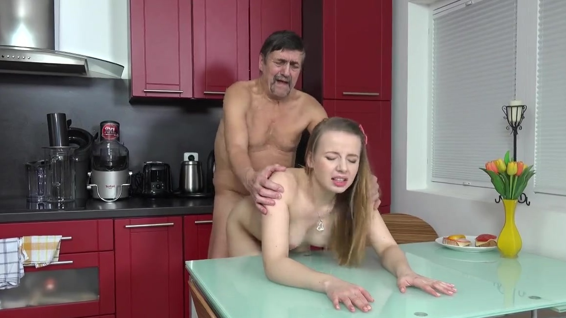 Teen fucked by old #8
