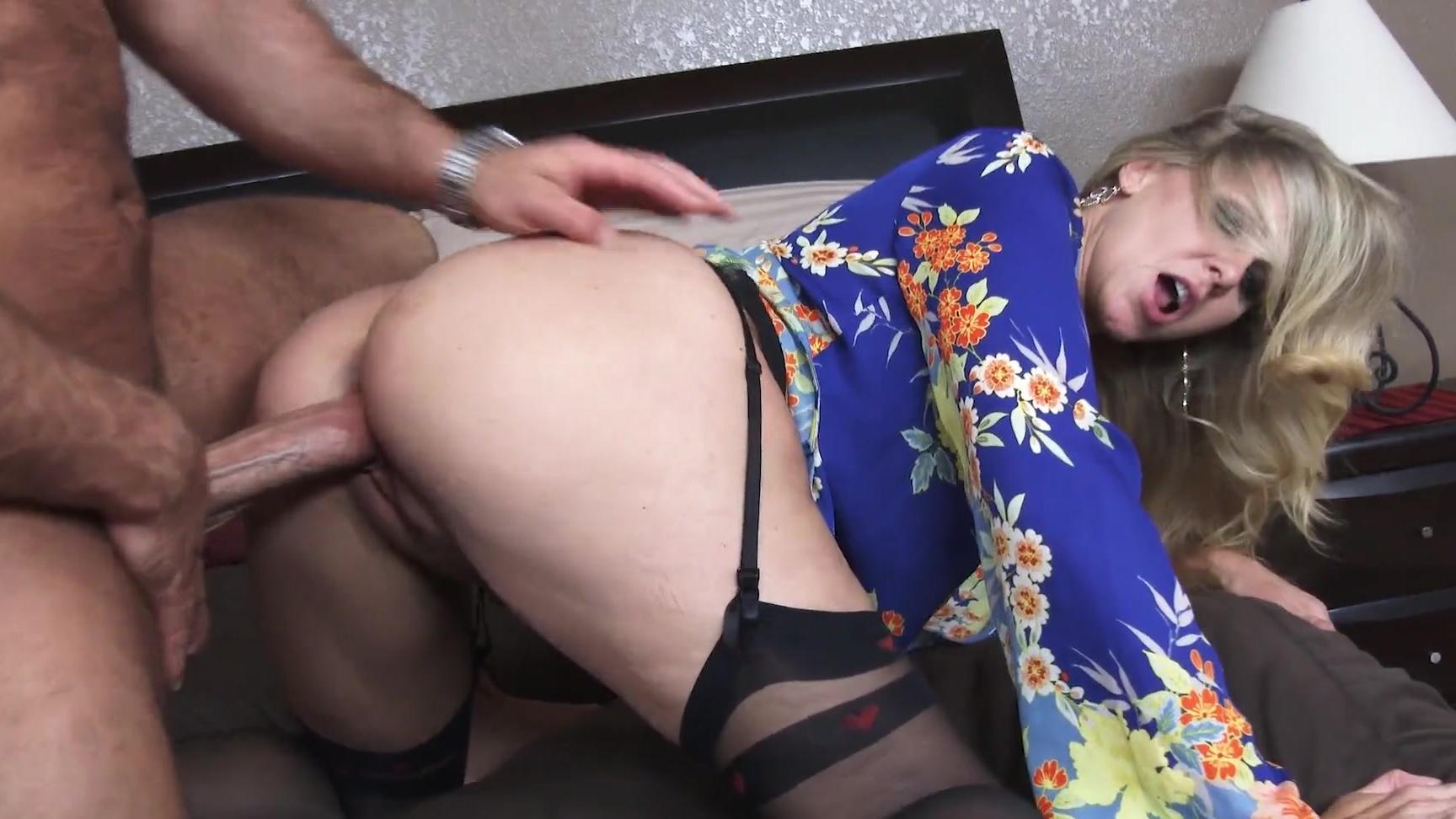 Redhead stockings porn gif