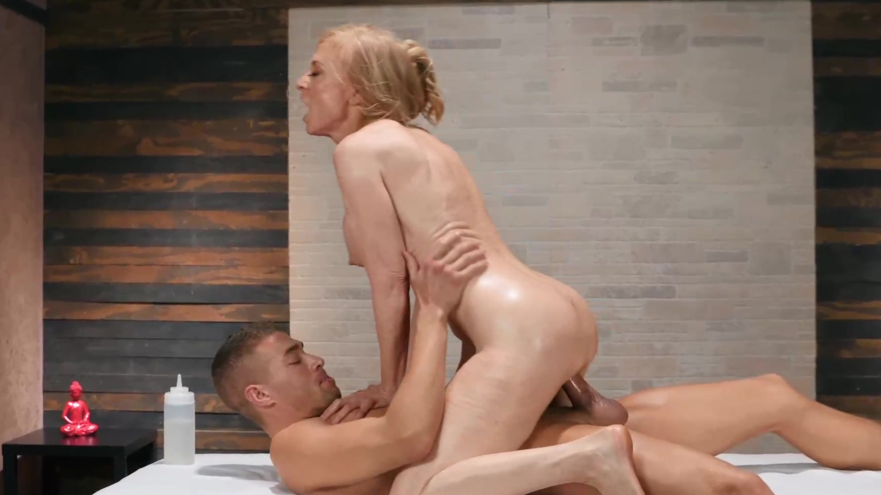 Nina North Lubed Threesome
