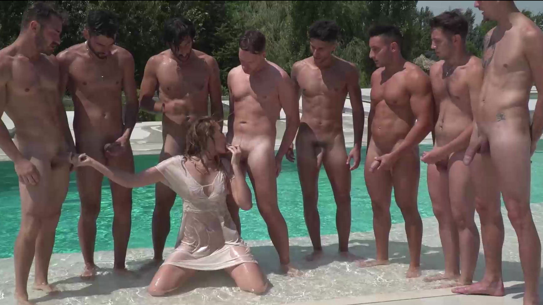 Strip search female guards