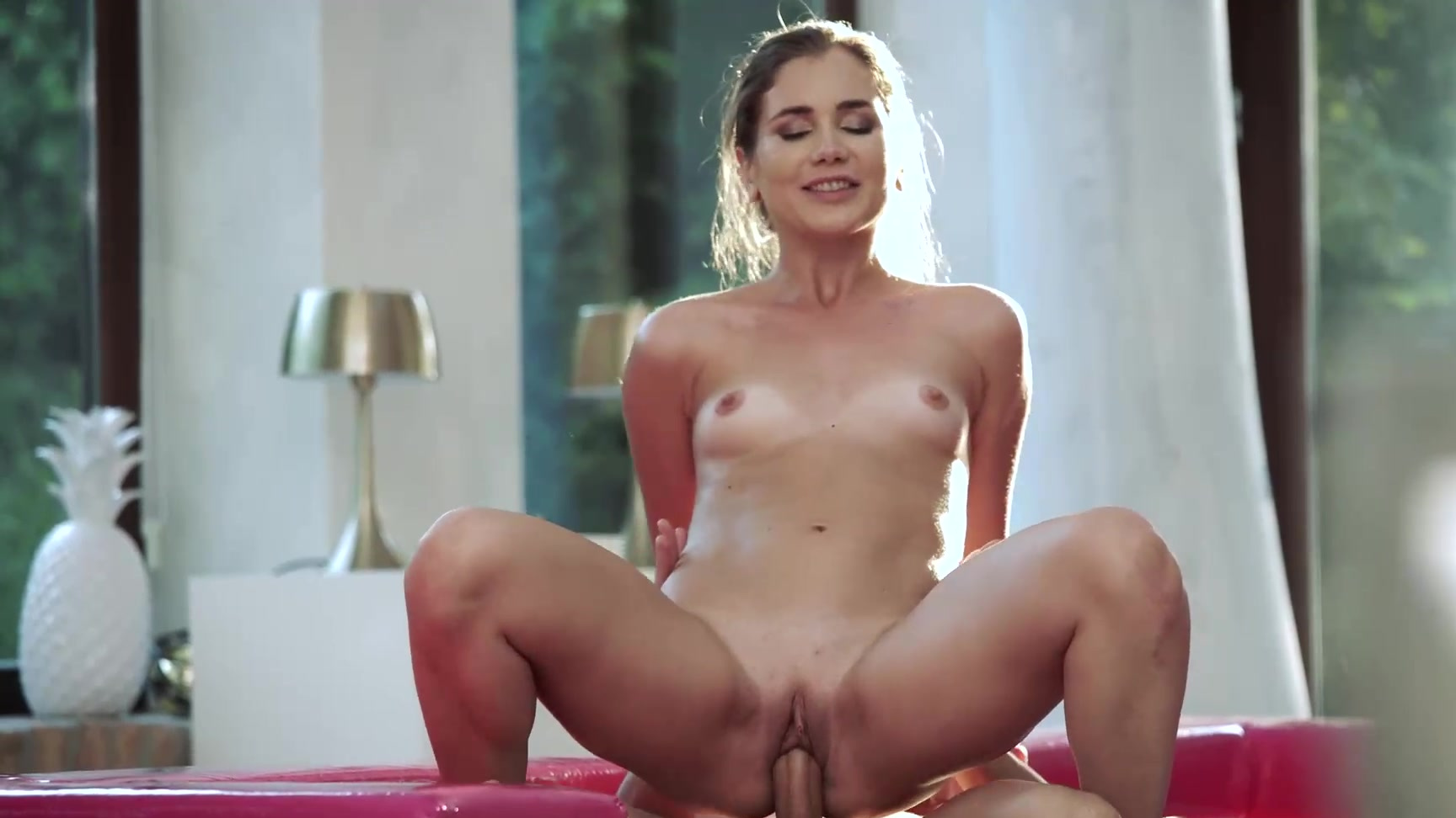 Pounding Her Little Pussy
