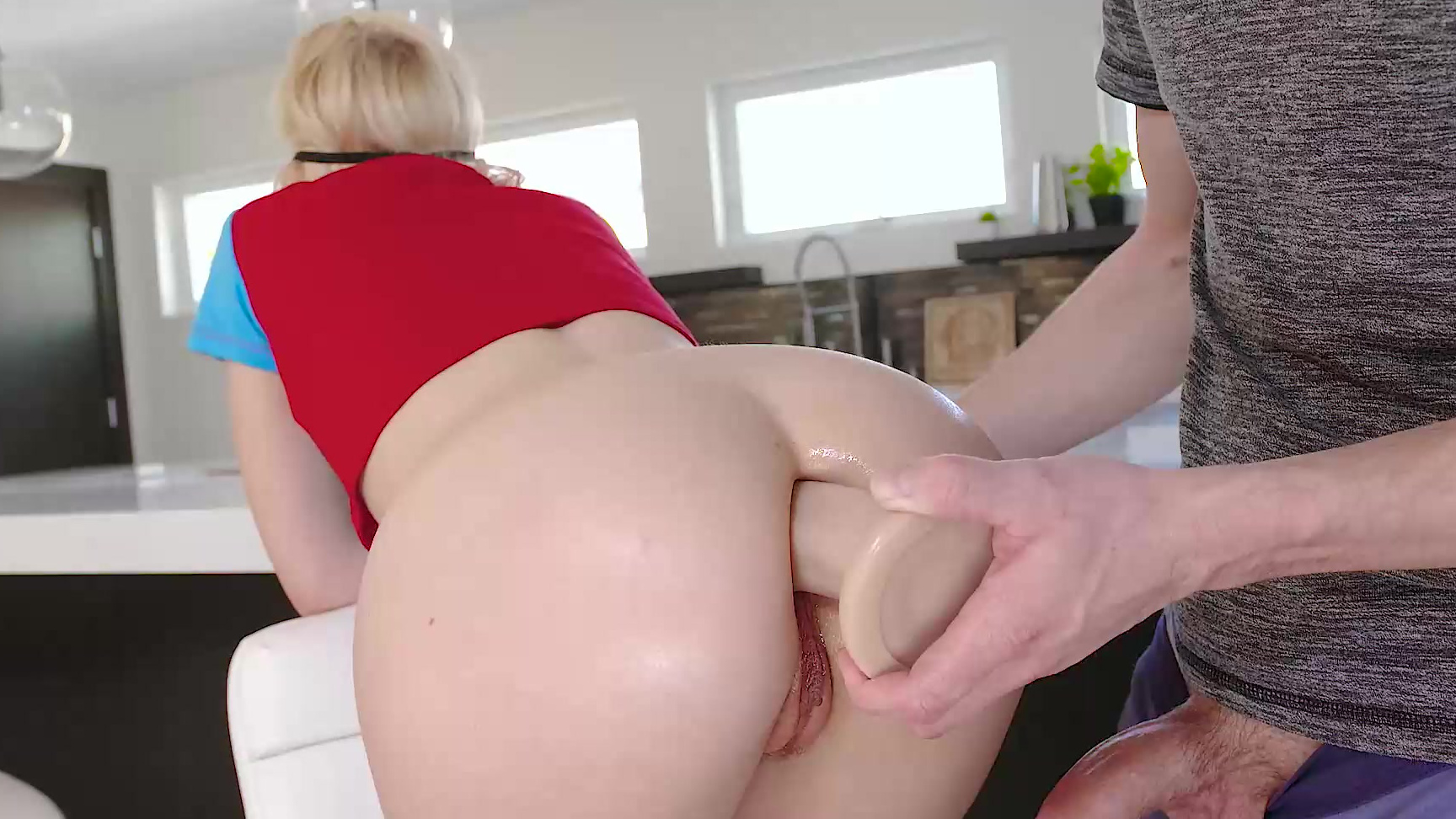 Anal King chloe cherry anal bet with her stepbrother (chloe cherry