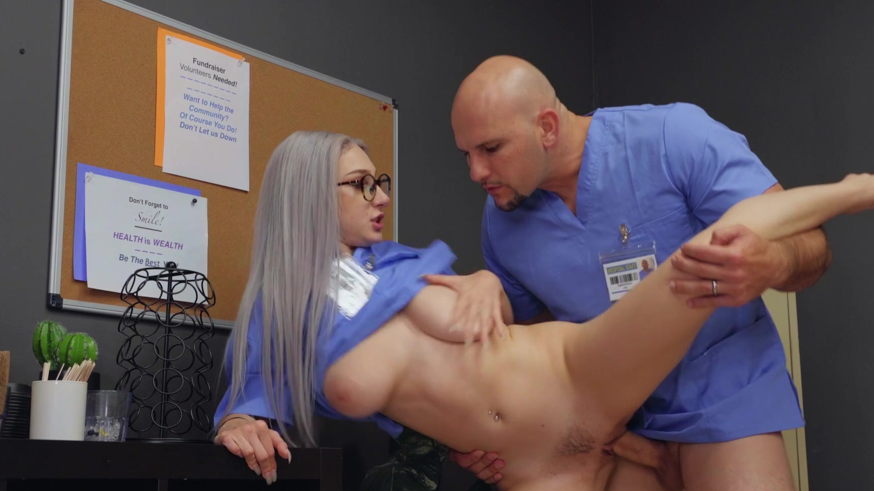 Sharon lee double anal
