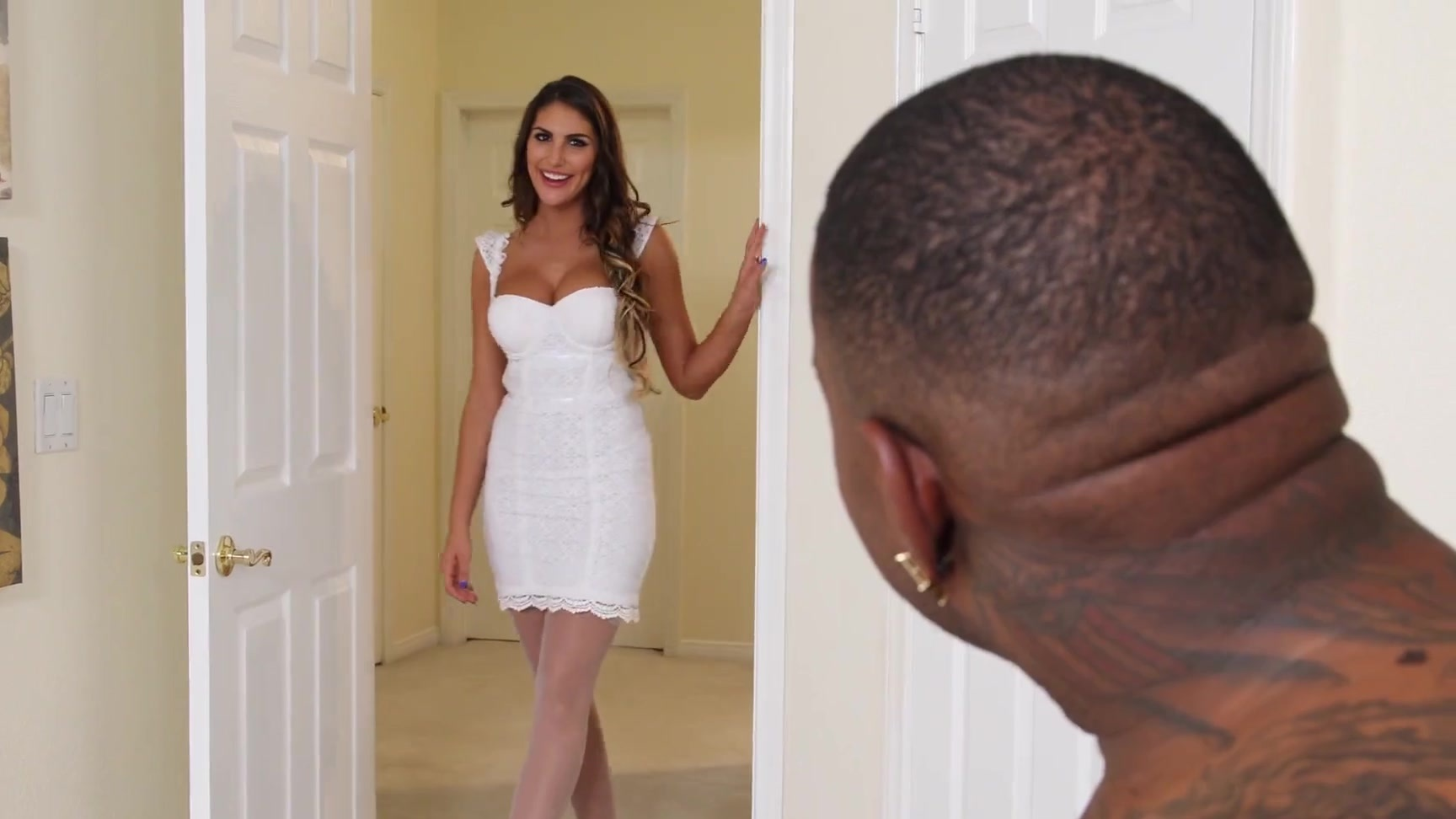 hotwife august ames facefucked and pussy destroyedthe bbc master