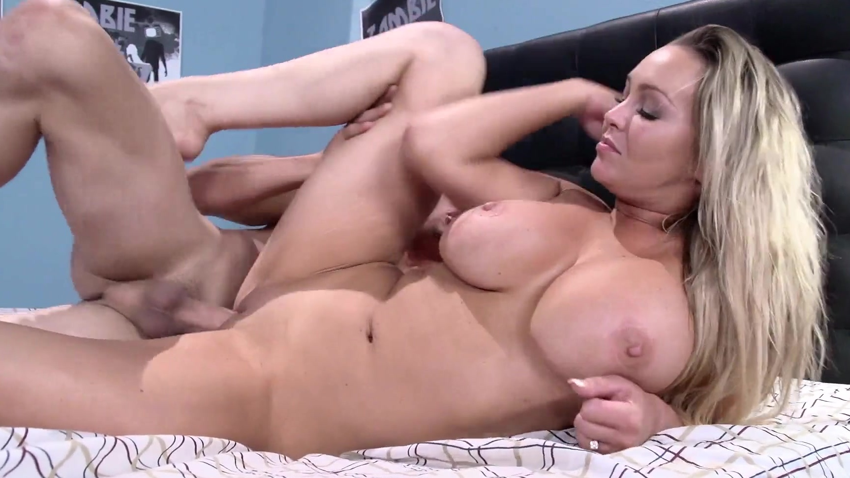 Abbey Brooks Fuck abbey brooks caught stepson jerking works on his dick with