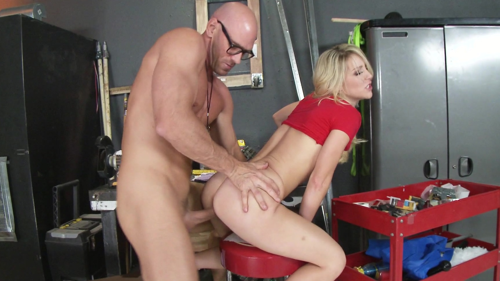 Johnny Sins Ebony Threesome