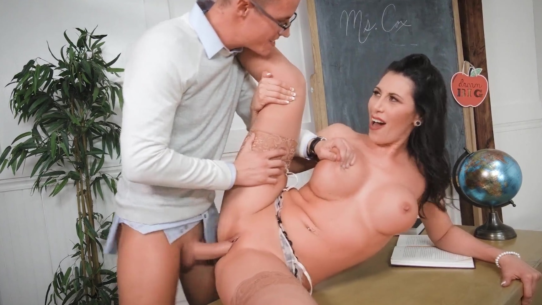 fuck in class of students front